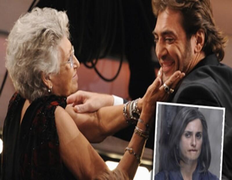 Fuentes cenas afirmaron a medios españoles que Pilar Bardem y Penélope Cruz no se llevan `tan´mal.