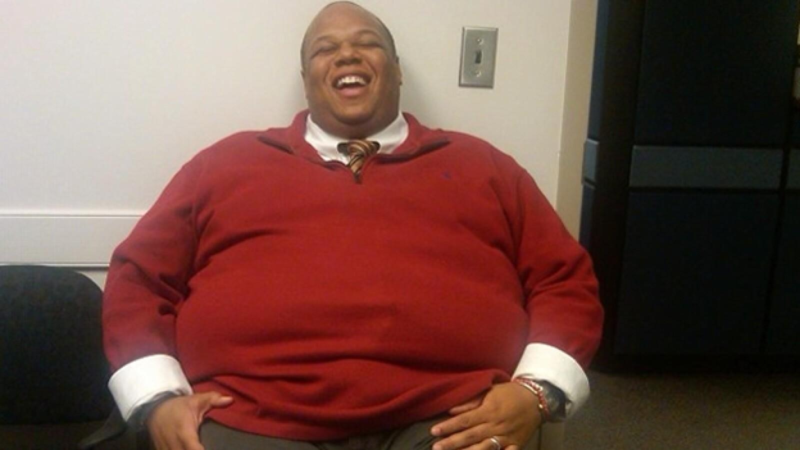 Marlon Gibson perdida peso