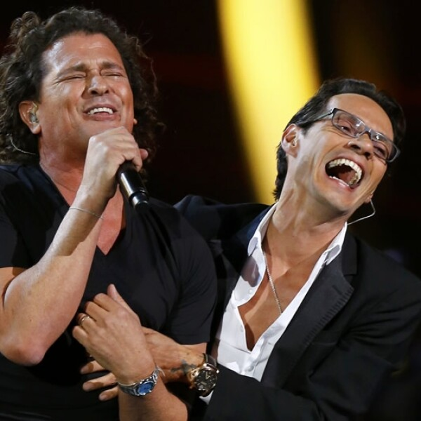 carlos vives marc anthony grammy latino 2014
