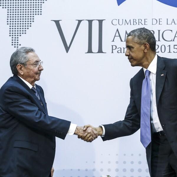 Primer acercamiento con Obama