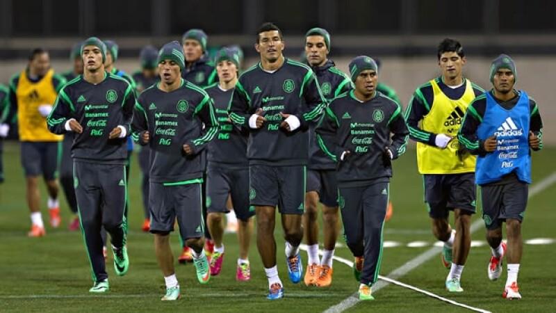 seleccion mexicana entrenamiento atlanta mexico