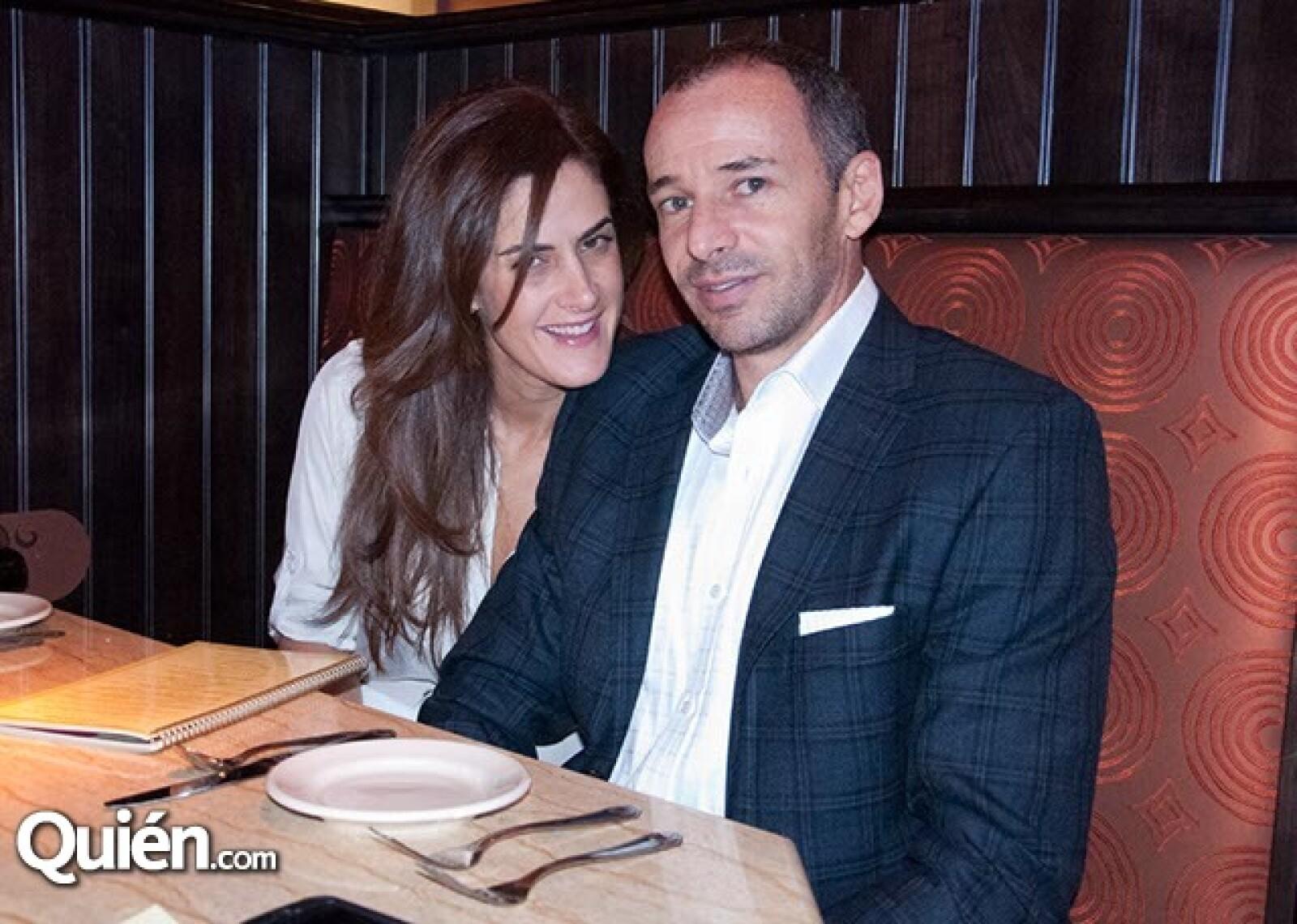 Karen Roitman y Daniel Arnauda
