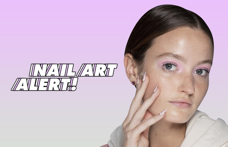 manicure-sencillo-en casa-esmalte-base-top coat-ideas-nail art-uñas