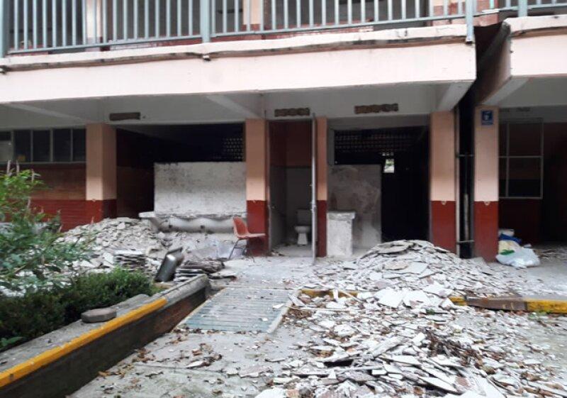 Secundaria 116, Tláhuac.