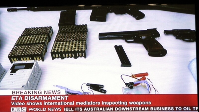 ETA, video desarme