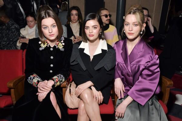 Miu Miu show, Front Row, Fall Winter 2020, Paris Fashion Week, France - 03 Mar 2020