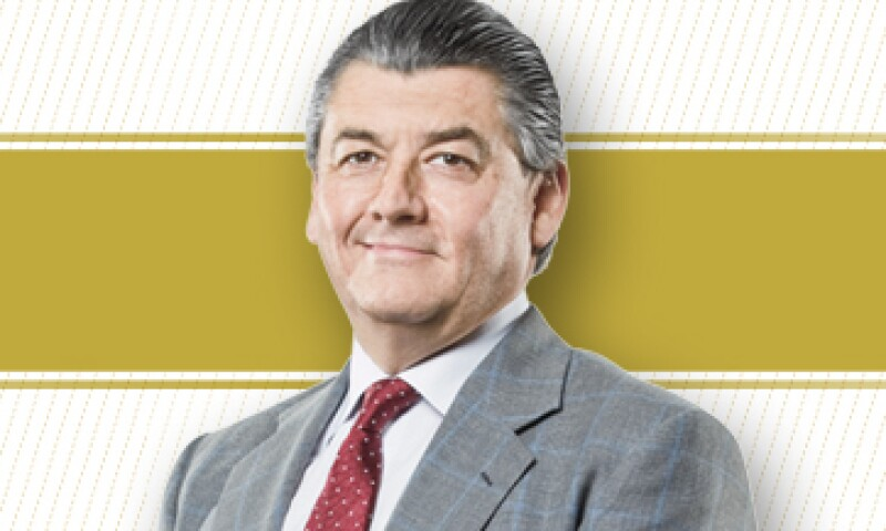 Durante la votación, realizada en tres etapas, tuvo como rivales a Carlos Slim, presidente de Amóvil, y Eduardo Tricio, presidente de Lala y Aeroméxico. (Foto: Especial)
