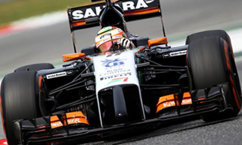 El mexicano Sergio Pérez corre con la escudería Force India. (Foto: Getty Images)