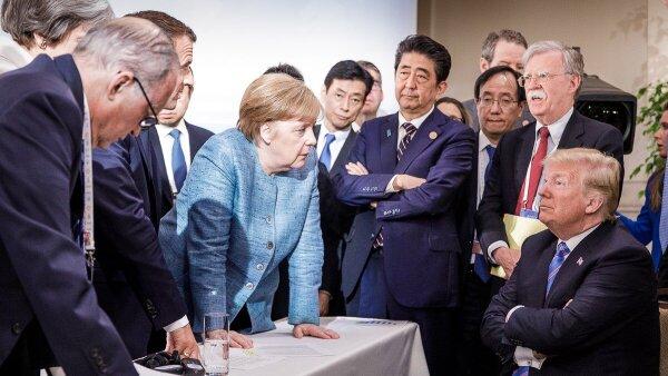 Reunión de mandatarios del G7