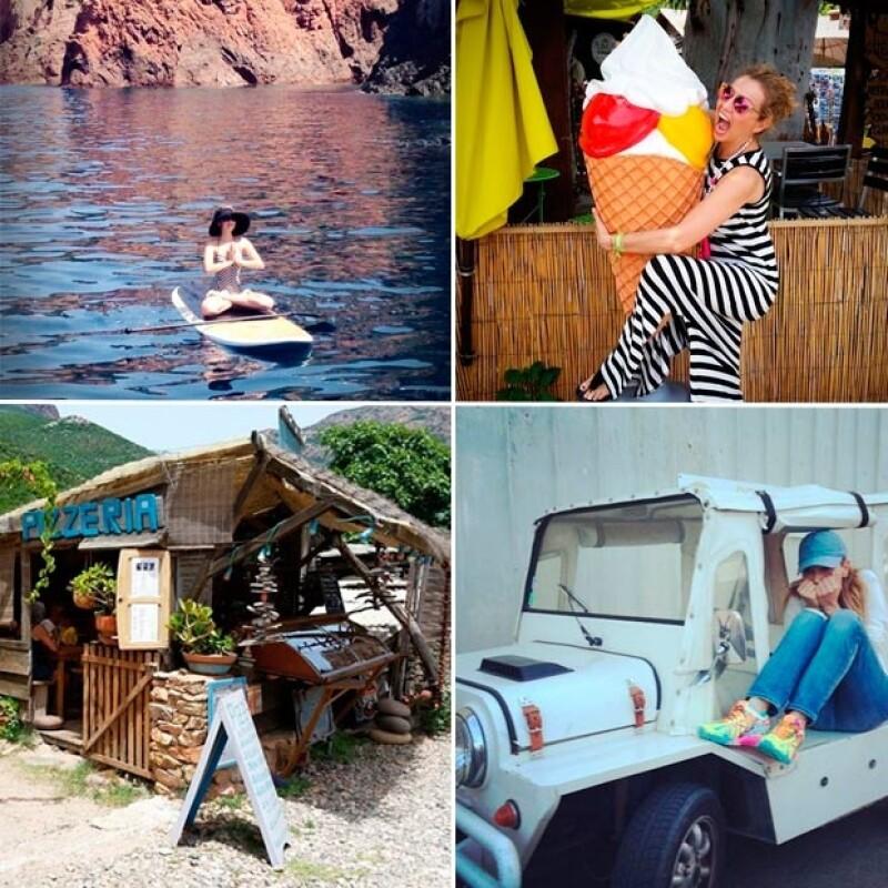 Thalía ha compartido fotografías de los mejores momentos de su viaje.