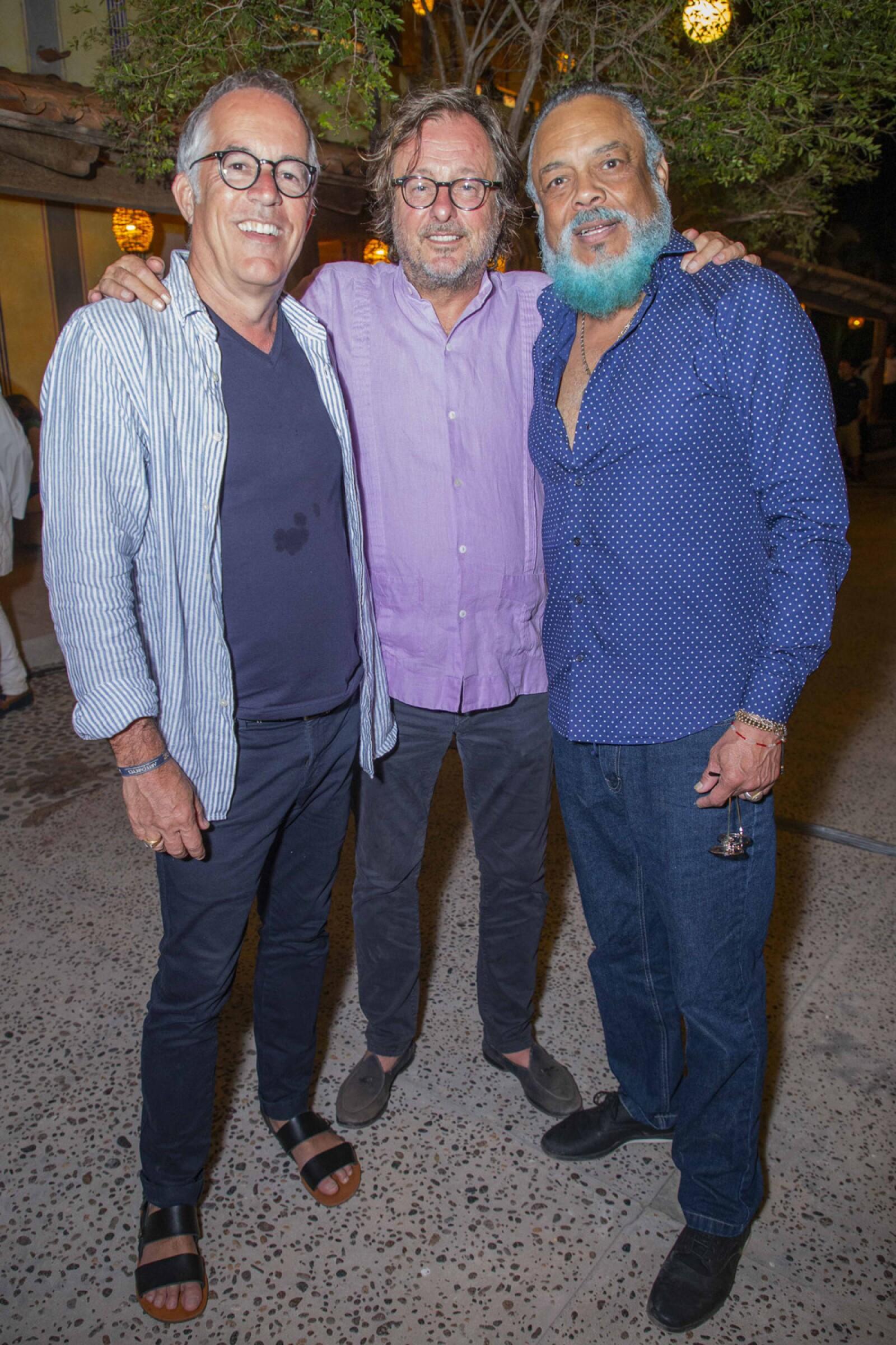 John Cooper, Filippo Brignone, Francisco Céspedes