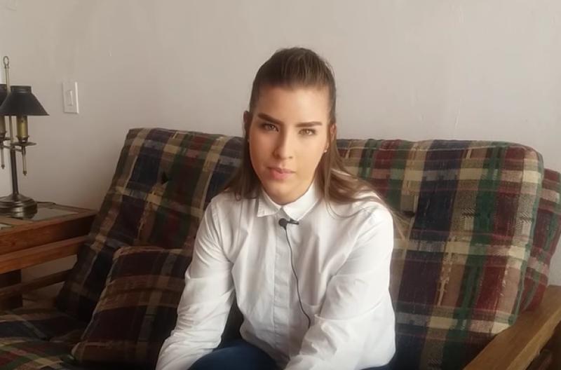 La joven de 18 años aclaró todo lo que se ha dicho tras la polémica que protagonizó al ser detenida por la policía por conducir -y chocar autos estacionados- en estado de ebriedad.