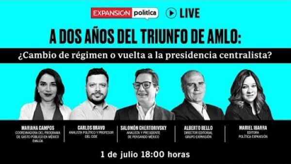 A dos años del triunfo de AMLO: ¿Cambio de régimen o vuelta a la presidencia centralista?