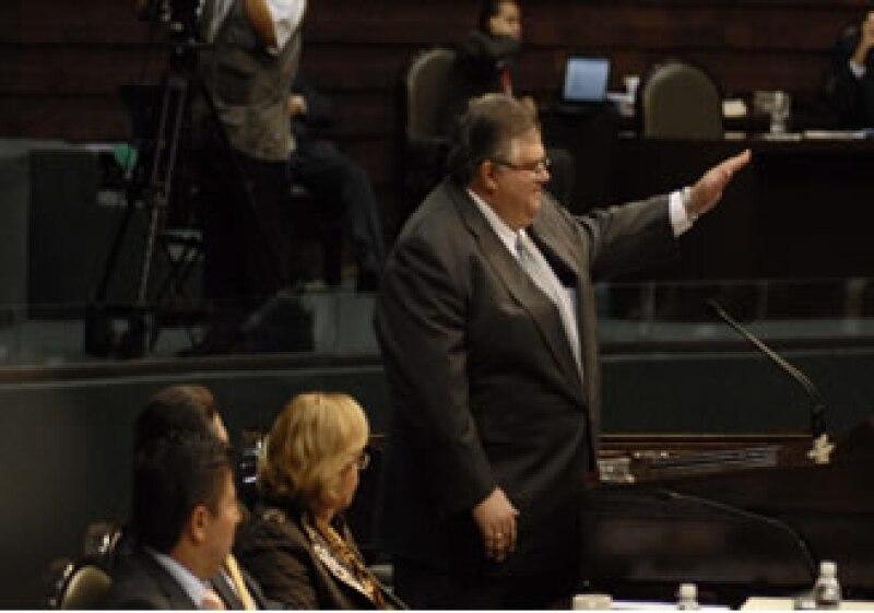 El secretario de Hacienda compareció ante diputados, quienes rechazaron algunas de sus propuestas fiscales. (Foto: Notimex)