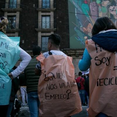 Protesta por bolsas 1