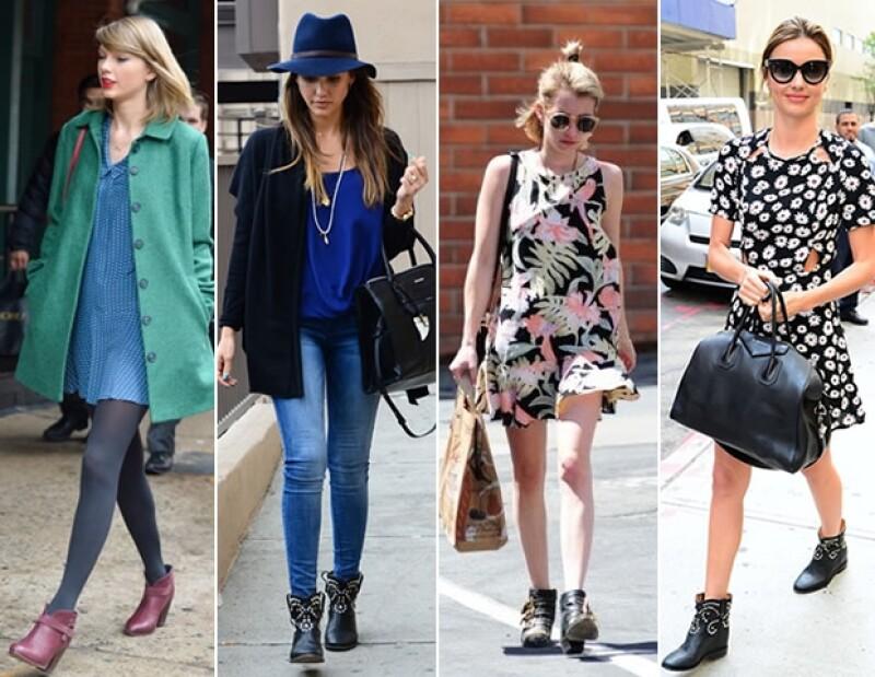 Las botas son perfectas para diferentes ocasiones, desde un date hasta un concierto.