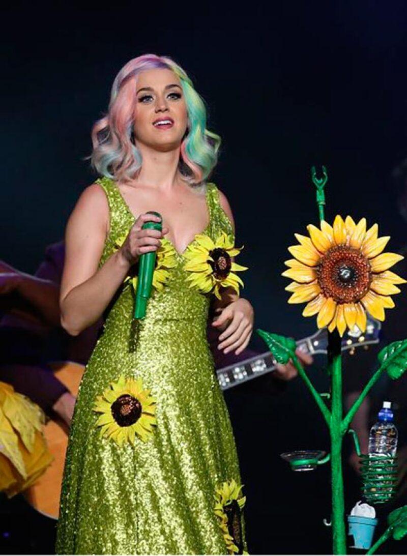La cantante ha utilizado este vestido en otros conciertos de su gira.