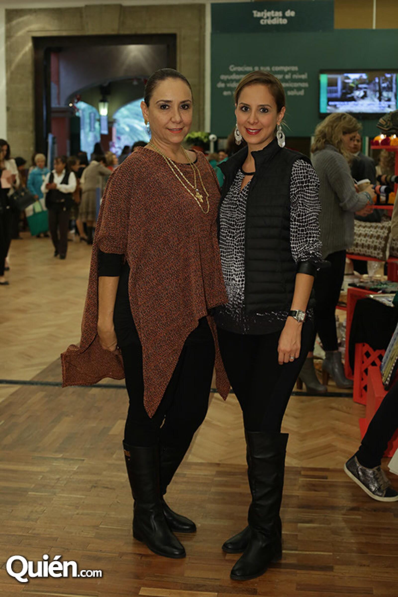 Inés Valdés e Ileana Rojas