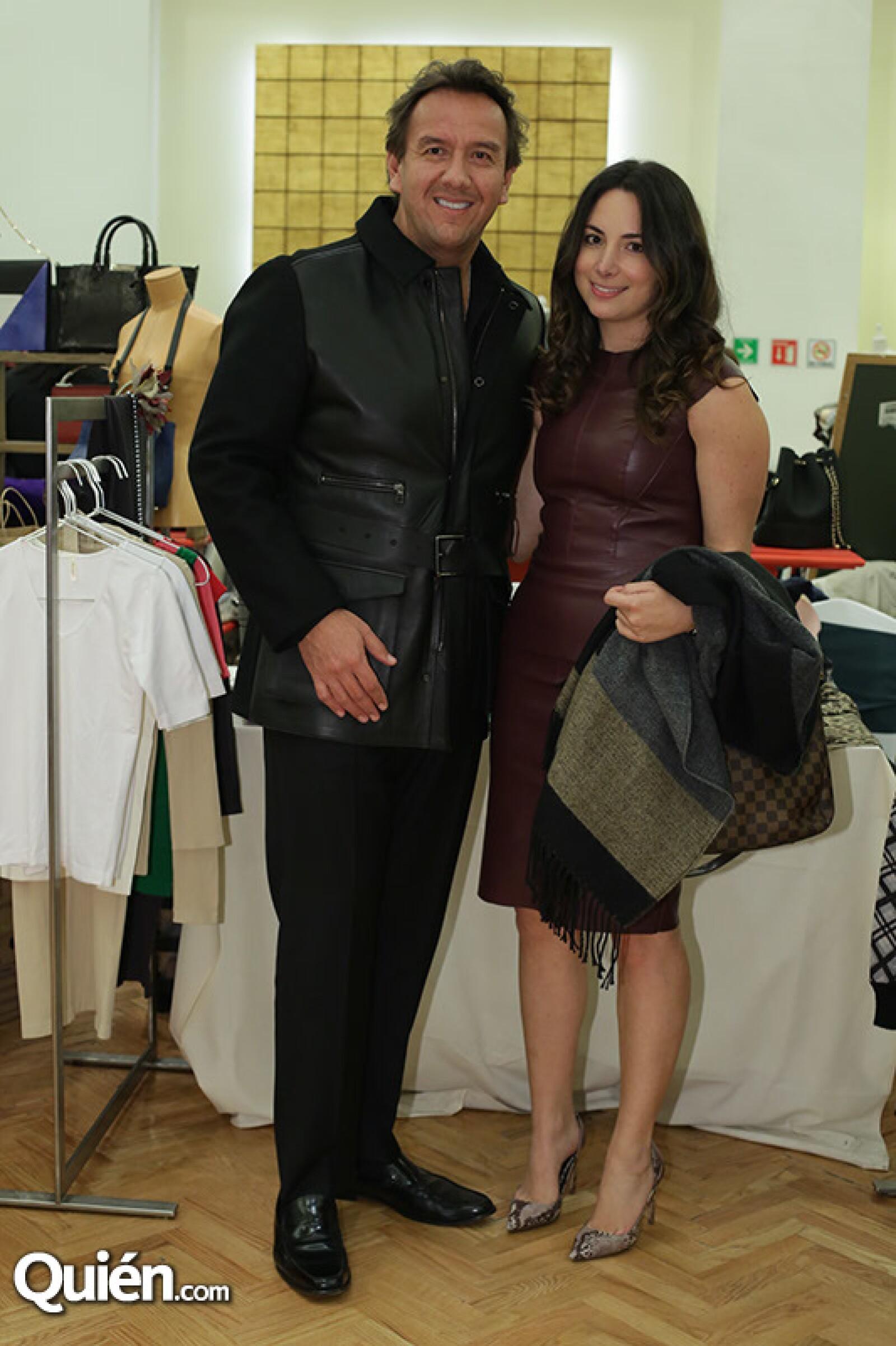 Arturo Montiel y Ana Cabal