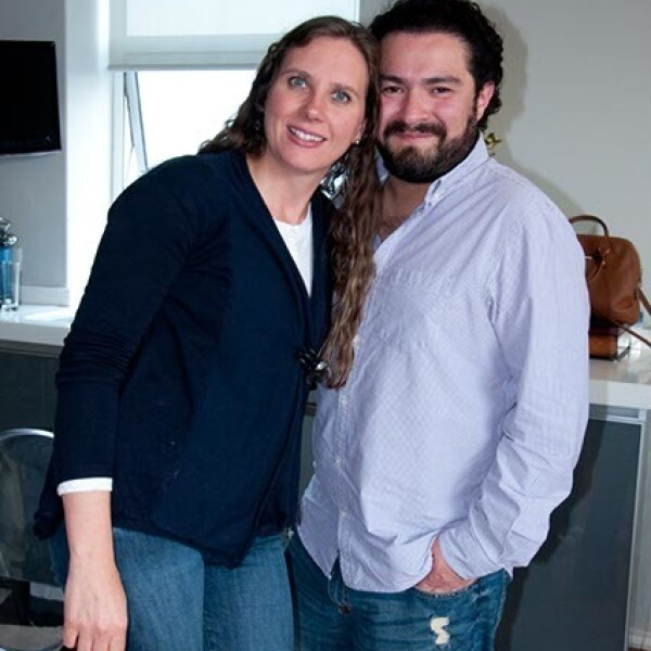 Claudia Martínez y Alejandro Díaz
