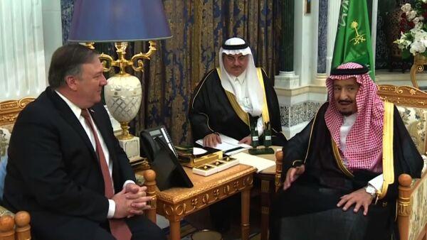La desaparición de un periodista, el punto central de la visita de Pompeo a Riad
