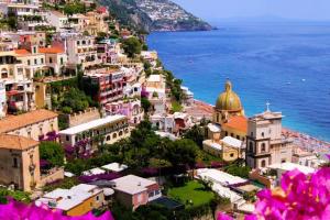 Carretera de la costa Amalfitana