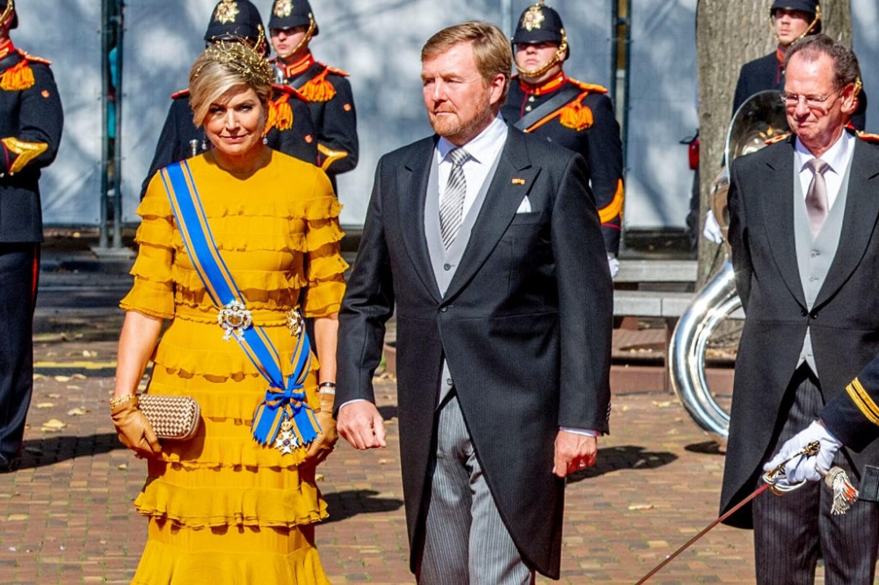 Máxima de Holanda y el rey Guillermo Alejandro