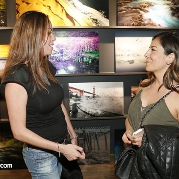 Lizi Ramos y Vanessa Campuzano