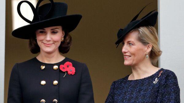 Kate Middleton y la condesa de Wessex