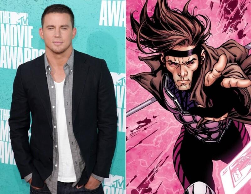 """Después de muchos rumores está confirmado que Channing Tatum ha sido elegido para representar a """"Gambito"""" en la tercer saga de X-Men y en una película solo."""