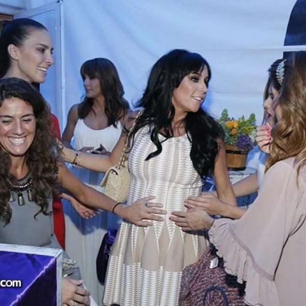 Alejandra Oates,Soledad Miglioli,Inés Gómez Mont y Claudia Álvarez
