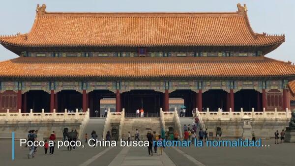 China reabre la Ciudad Prohibida tras confinamiento