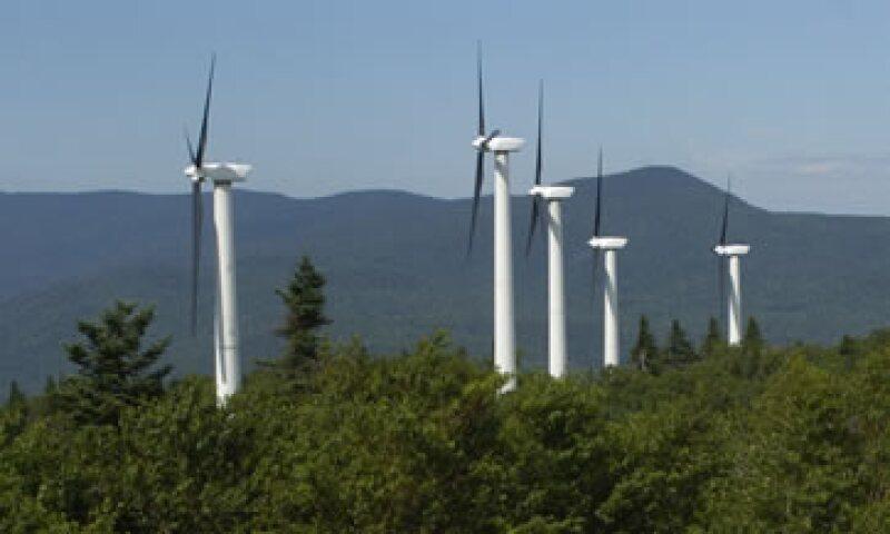 Se busca la manufactura de turbinas de viento en el país. (Foto: AP Images)