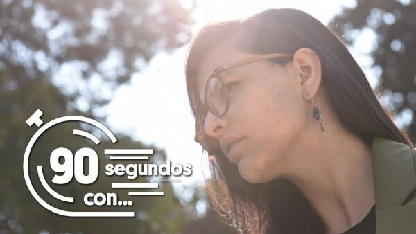 #90SegundosCon   Lucia Riojas