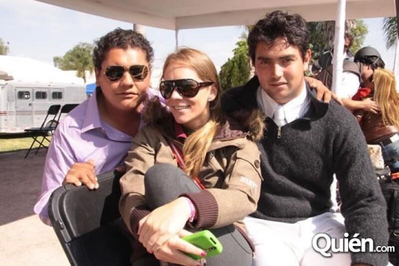 En Balvanera, Querétaro junto a Aauar Esquivel y Juan Carlos Álvarez.