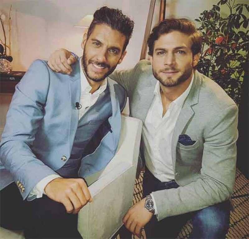Erick Elías y Horacio Pancheri