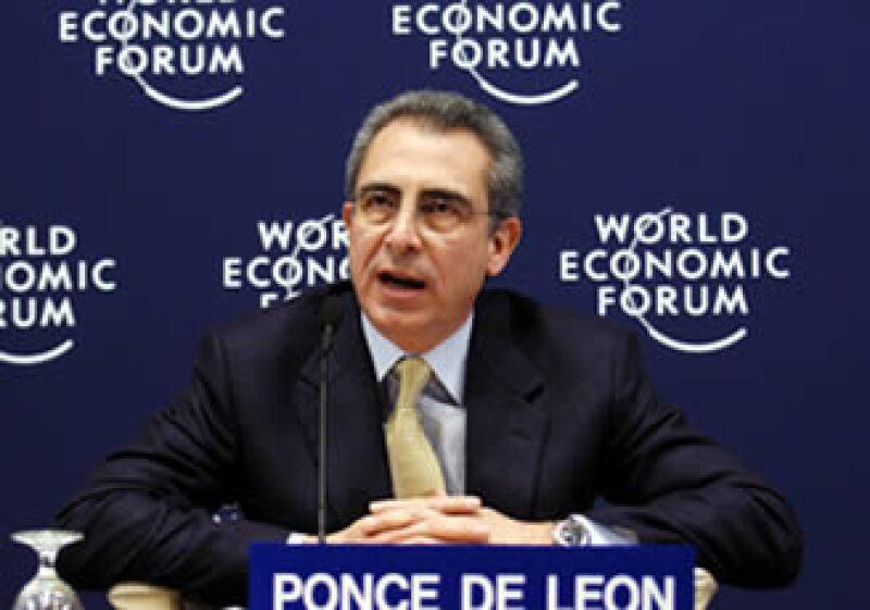 El ex presidente de México, Ernesto Zedillo, participa en el Foro Económico de Davos. (Foto: World Economic Forum)
