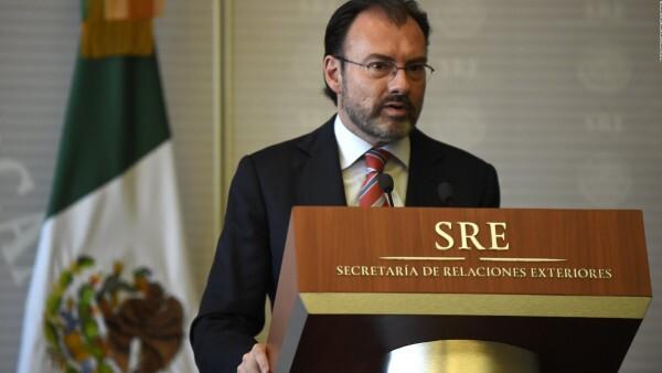 Canciller mexicano apoya iniciativa de la OEA sobre Venezuela