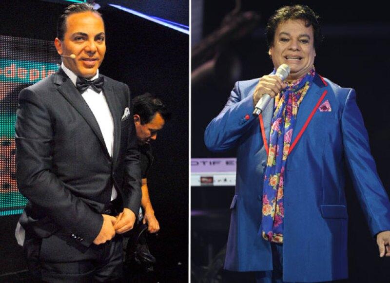 """El cantante ha sido uno de los más dolidos con la partida del """"Divo de Juárez"""", con quien matenía una estrecha relación."""