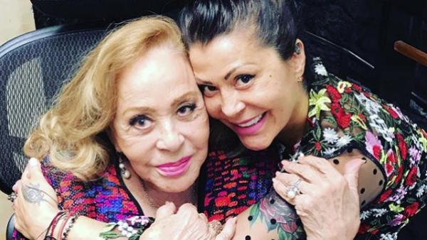 Alejandra Guzmán y Silvia Pin
