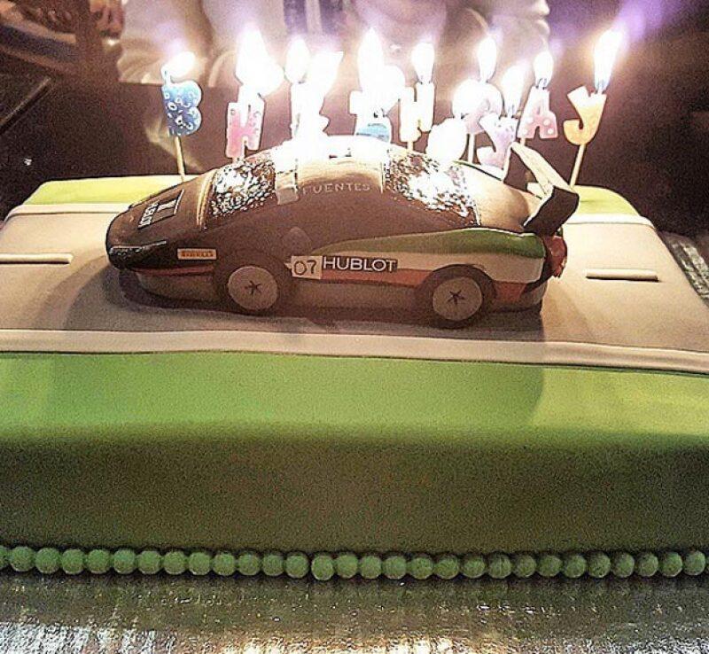 Nada más ad hoc para celebrar a Martín que este pastel.