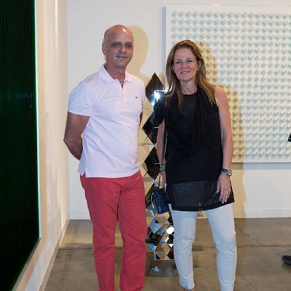 Rafael de Haro y Lourdes Legorreta