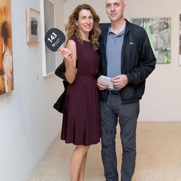 Ursula Verea y Patrick Charpenel