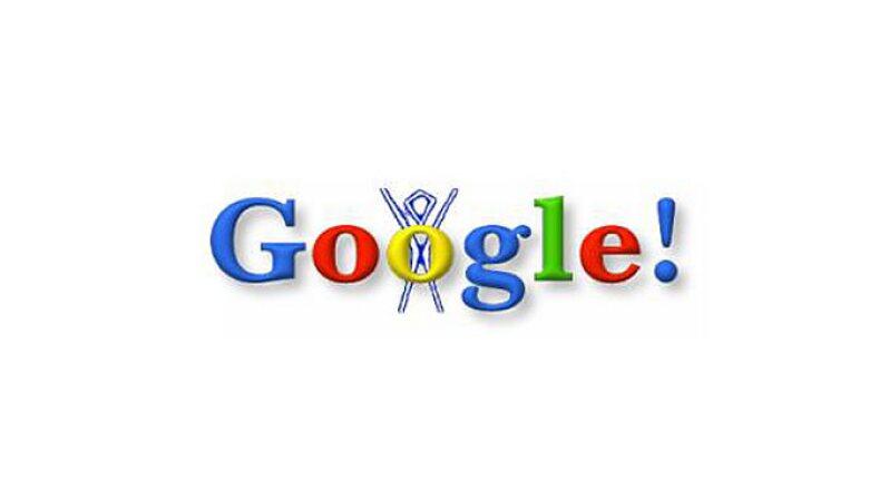 Lanzado el 30 de agosto de 1998, la imagen fue una broma de los fundadores de Google y la pusieron en señal de que estarían fuera de la oficina por el festival Burning Man, en el desierto de Nevada.