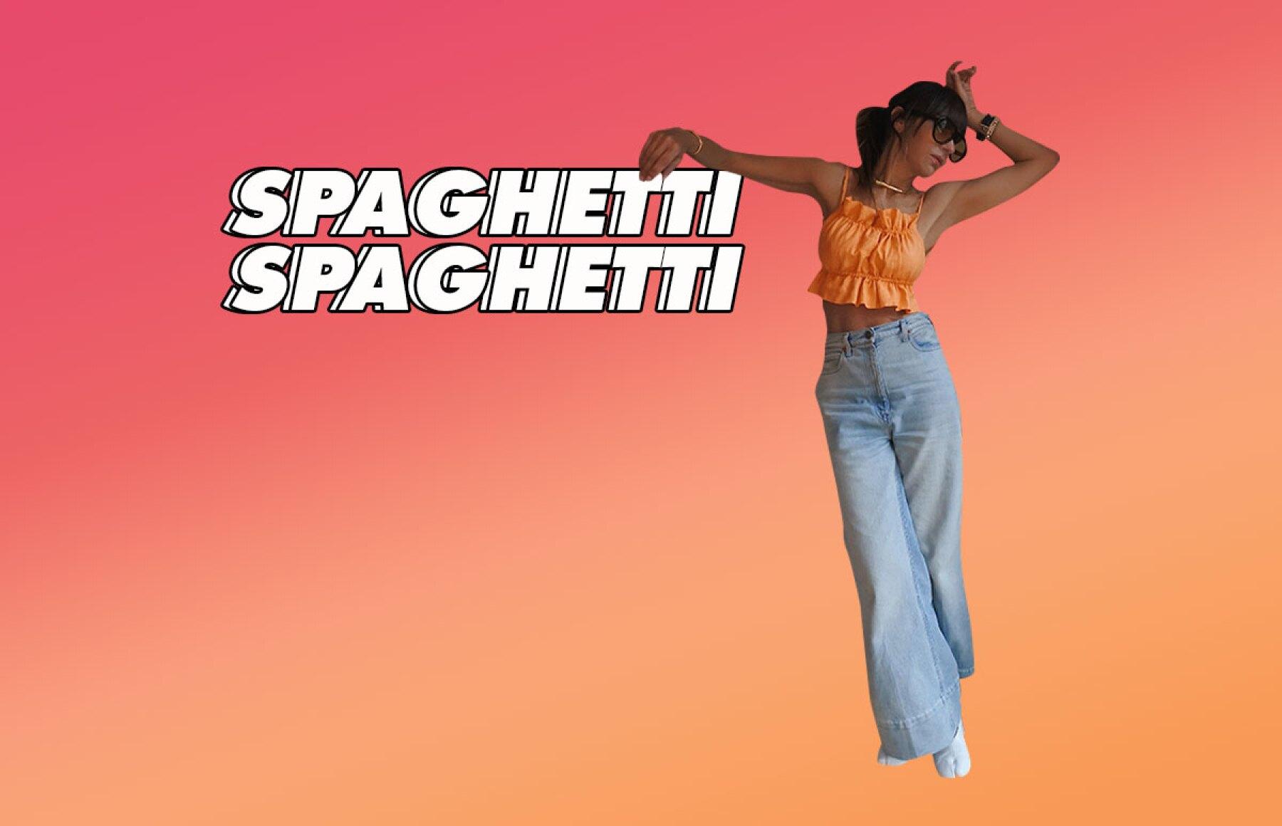 Spaguetti straps