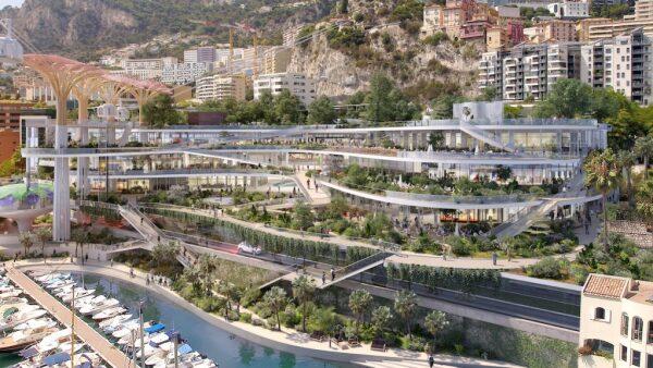 Parque vertical en Mónaco