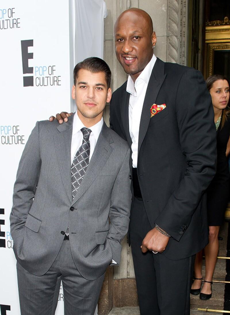 Rob Kardashian, hermano menor de Khloé, está dispuesto a ayudar a su cuñado con tal de solucionar la falla renal que le ocasionó una sobredosis.