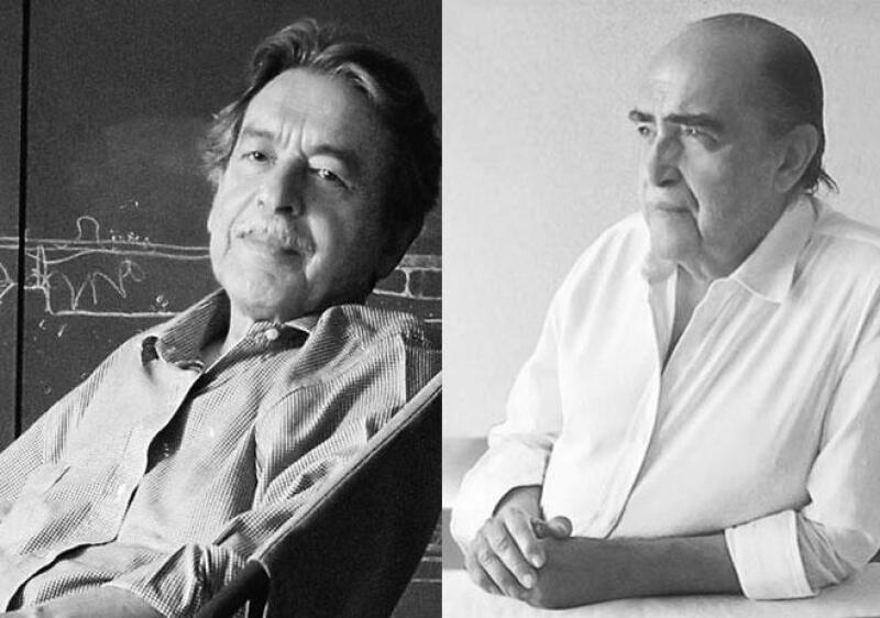 Oscar Niemeyer y Paulo Mendes da Rocha