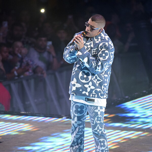 Bad Bunny Performs At The Staples Center - Los Angeles, CA