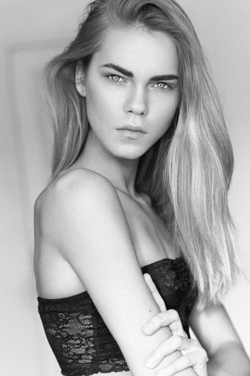 La página models.com la ha puesto en su lista de nuevas modelos en la industria.